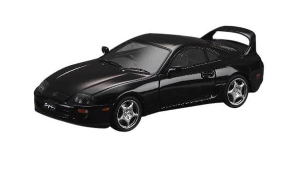 Amazon.com: MARK43 1/43 Toyota Supra 3000 twin-cam 24 2way twin-turbo RZ (JZA80) Black: Toys & Games