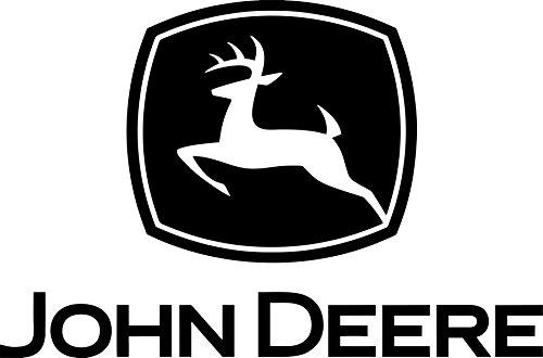 John Deere Logo Cutz Window Cling