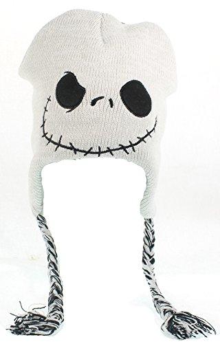 Disney ECNB1106 Nightmare Before Christmas Peruvian Shoelace Knit Cap