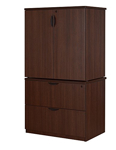 Regency Legacy Laminate - Regency LPLFSC3665JV Legacy Lateral and Storage Cabinet, Java