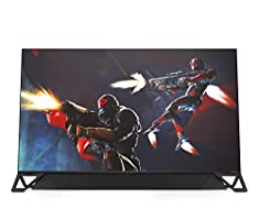 OMEN X by HP Emperium 65 inch 4K Big Format Gaming Display with NVIDIA G-SYNC HDR-1000, 144Hz Refresh Rate, Soundbar Included, Built-In NVIDIA Shield for Streaming (4JF30AA, Black)