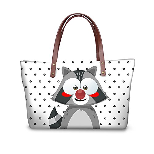 Purse Fashion Top Foldable Handbags C8wcc4073al Satchel Bags Handle Wallets Women FancyPrint t6cO7qtw