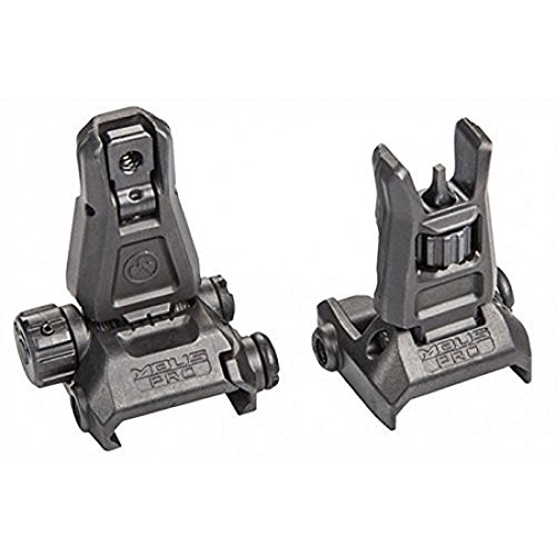 Magpul MBUS PRO Steel Sight Set MAG275 & MAG276 BLACK by Magpul