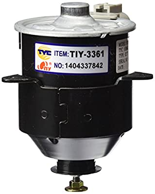 TYC 630660 Toyota Camry Replacement Radiator/Condenser Cooling Fan Motor