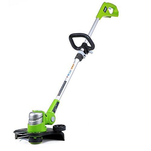 2100302 G-24 24V 12'' Cordless String Trimmer - Battery and Charger Not Included by Greenworks