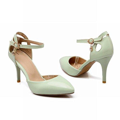 Toe Stiletto Heel Grace Grün wies Carolbar Pumps Frauen High Fashion 0U0Zwq