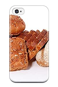 Hot JmuDbxx3896WumLs Bread 2 pc Case Cover Compatible With Iphone 4/4s