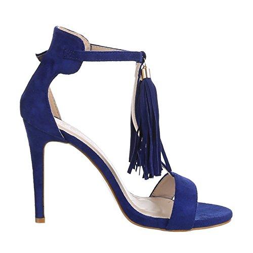 Design Bleu Bleu femme Sandales Ital 1qCwxBvx