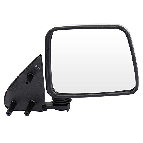 - AUTOMUTO Black Rear-vision Mirror right Side View Mirror Manual adjustment Manual Folding Chrome Fit Compatible With 1986-1997 Nissan Pickup 1986-1994 Nissan D21 1987-1995 Nissan Pathfinder