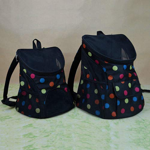 Dots Small Dots Small FidgetGear Mesh Head Pet Cat Dog Puppy Carrier Front Travel Shoulder Bag Backpack Handbag Dots Small