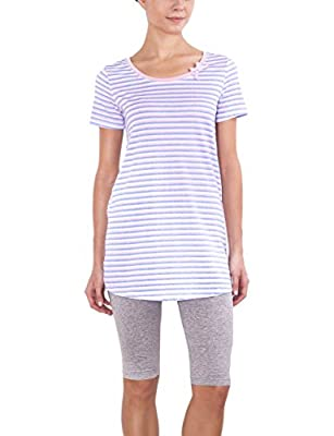 Best Seller Women's Sleepwear Super-Soft Cotton Knit Pajama Set PJ