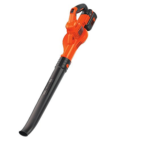 BLACK+DECKER 40V MAX Cordless Sweeper (LSW40C) (Leaf Orange Operation Of Hours)