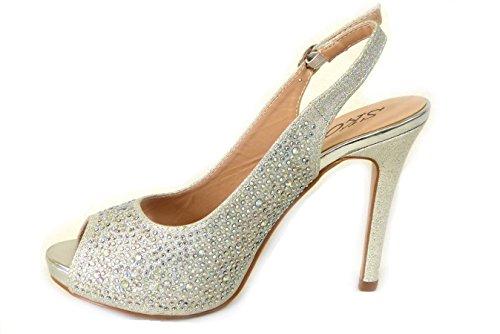 3 Größe Abend Schuhe Sandalen 4 Silber Braut Verschiedene Prom 5 8 High 6 Damen Diamante Designs SKO'S 4 Heel Damen 828 Hochzeit 7 nCqfwz6O