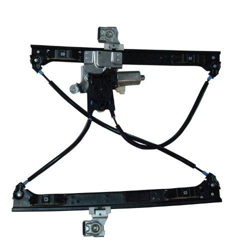 TYC 660214 Power Replacement Front Driver Side Window Regulator Gmc Envoy Xuv Power Window