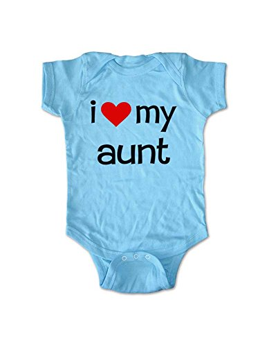 i love my aunt - cute baby one piece infant clothing (New...