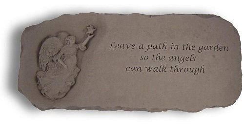 Kay Berry Leave A Path For Angels Garden Bench