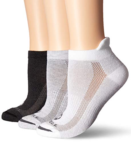 Merrell Women's 3 Pack Performance Hiker Socks , Grey White Mix (Low Cut Tab), Shoe Size: 4-9.5 (Best Low Cut Hiking Shoes)