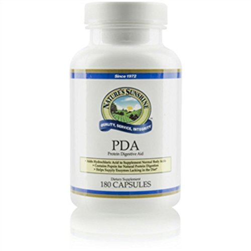 Nature's Sunshine PDA Combination Supports the Digestive System (180 Caps)