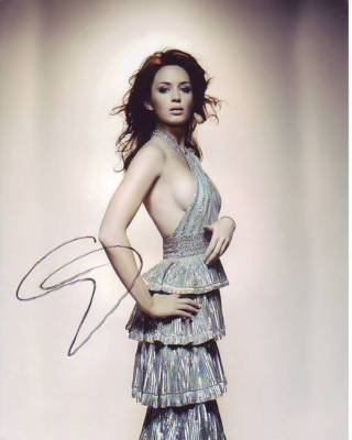 EMILY BLUNT signed autographed SEXY BEAUTIFUL photo