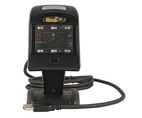 25 Scan Distance Imager Wasp WDI4600 2D Barcode Scanner USB 1D 2D 154855