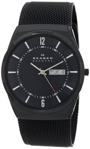 Skagen-Mens-SKW6006-Melbye-Black-Titanium-Mesh-Watch