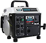 Pulsar 1,200W Carrying Handle, PG1202S Gas-Powered Portable Generator, 1200 Watts,...