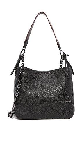 Botkier Women's Soho Bucket Black Handbag (Soho Hobo Leather)