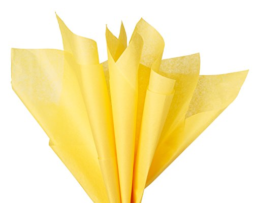 American Greetings Yellow Tissue Paper, 6-Sheets]()