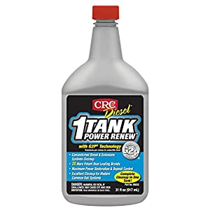 CRC 05832 Diesel 1 Tank Power Renew 32 Fl Oz