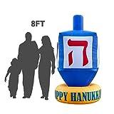Holidayana Hanukkah Dreidel Inflatable Decoration