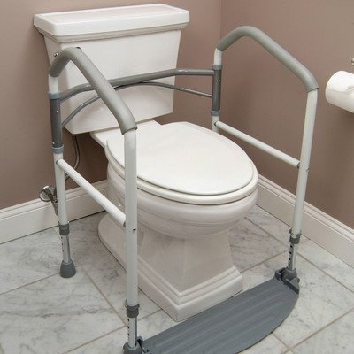 Buckingham Foldeasy: Toilet Surround Support Aid by Natural Essential