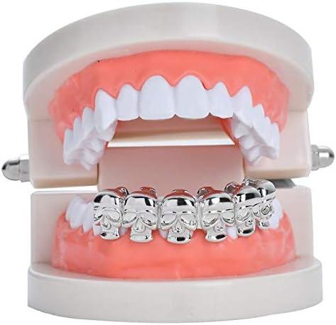 Amazon.com: TSANLY - Parrilla para dientes, diseño de ...