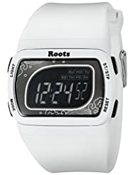 Roots Women's 1R-AT401WH1W Tofino Digital Display Quartz White Watch