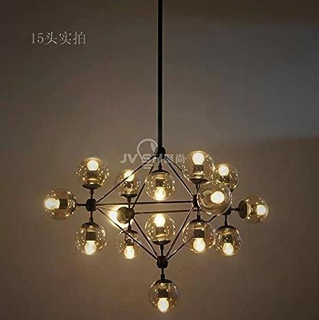 dsjt contemporáneo lámpara bombilla luces de techo moderna ...