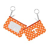 NCAA Tennessee Vols Volunteers Sports Team Logo ID Keychain Coin Purse