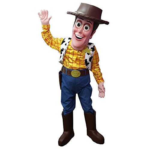 WOODY TOY STORY MASCOT COSTUME ADULT QUALITY PARTY HALLOWEEN COWBOY COSPLAY SUIT