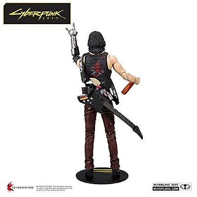 McFarlane Toys Cyberpunk 2077 Johnny Silverhand Action Figure: Toys & Games