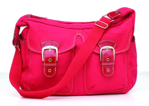 Ryco Ruby - Bolso cambiador, color rojo