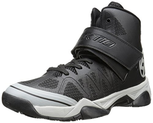 Ektio Men's The Alexio Ankle Support Basketball Shoe, Black, 14 D US