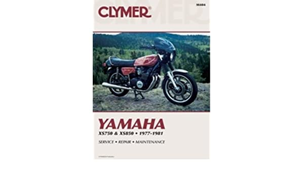 amazon com: clymer repair manual for yamaha xs750 xs850 77-81  (0024185724384): manufacturer: books