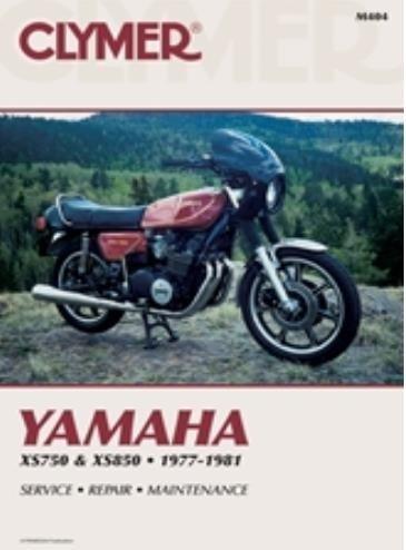 amazon com clymer repair manual for yamaha xs750 xs850 77 81 rh amazon com yamaha xs 850 service manual yamaha xs 850 repair manual