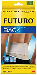 Futuro Moderate Stabilizing Back Support, 2 XL - 3XL