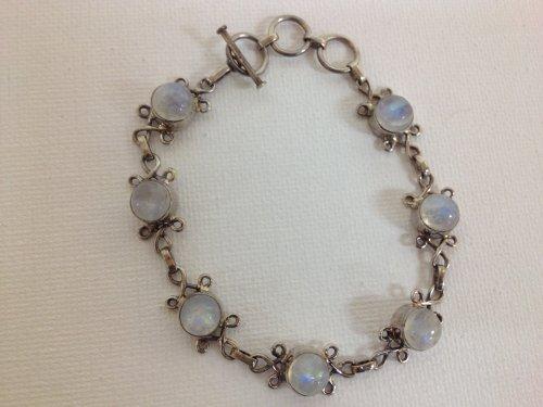 Bracelet Femme-Argent 925/1000-Pierre de lune