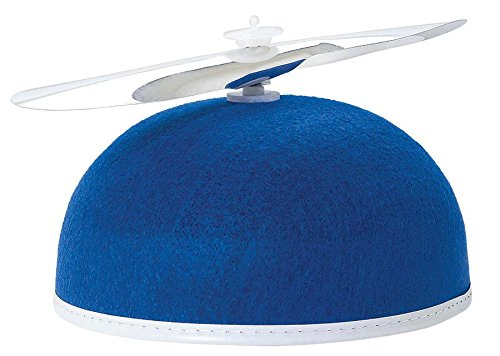 (Blue Propeller Beanie)