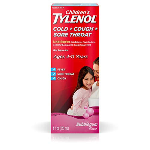 Children's Tylenol Cold, Cough, And Sore Throat