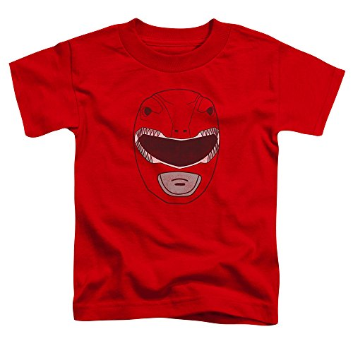 Mighty Morphin Power Rangers Masks (Mighty Morphin Power Rangers Red Ranger Mask Little Boys Shirt Red MD (3T))