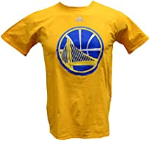adidas AL8969 NBA Golden State Warriors Go To Tee - Short Sleeve (Gold - XL)