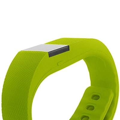 Pedometer Tracker,Next-shine Wireless Bluetooth Fitness Activity Tracker Sleep Wristband + Call Notification,Green