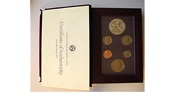 1991 PRESTIGE Proof Set Complete /& Original Mint Made U.S With Box