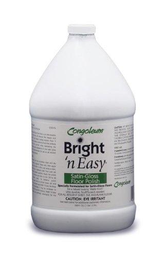 Congoleum Bright 'N Easy Satin-gloss Floor Polish (Matte), Gallon